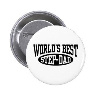 Step Dad Pinback Button