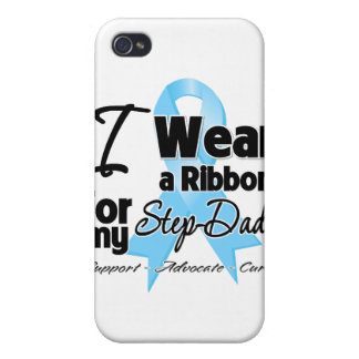 Step-Dad - Prostate Cancer Ribbon iPhone 4/4S Covers