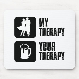 step-dancing  my therapy mouse pad