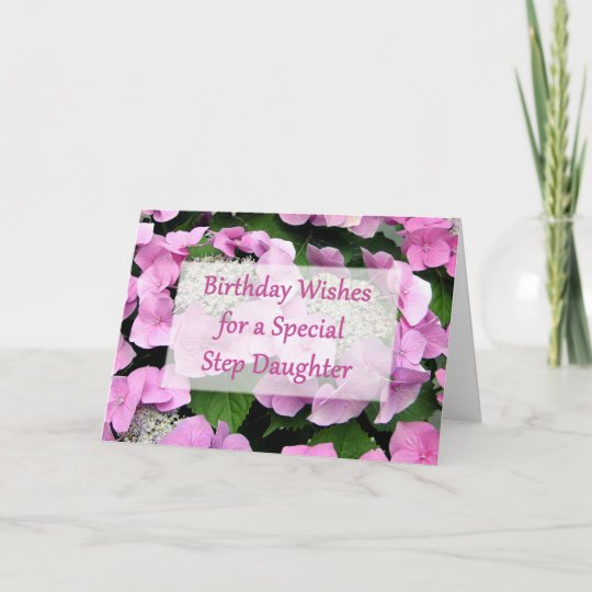 Step Daughter Birthday Card Zazzle