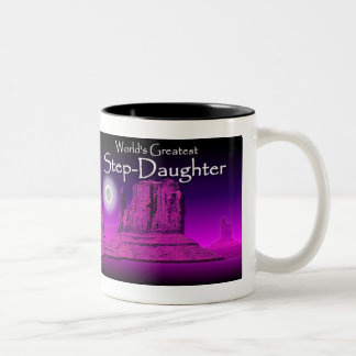 Step-Daughter's Loving Hands Pink Mug