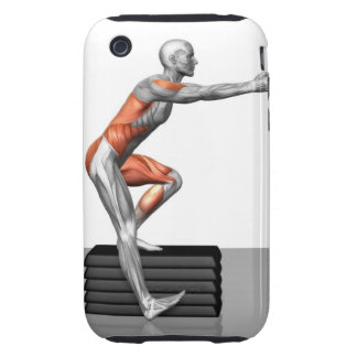 Step-Down Exercises Tough iPhone 3 Cover