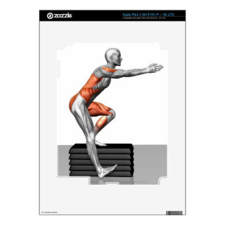 Step-Down Exercises iPad 3 Skin