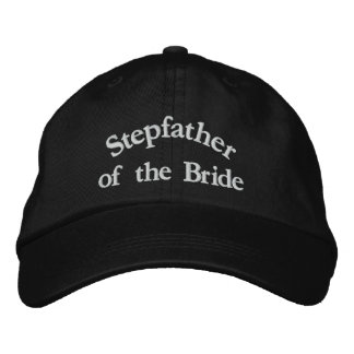 Step Father of the Bride Embroidered Baseball Hat