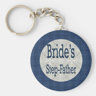 Step-Father Of The Bride Keychain