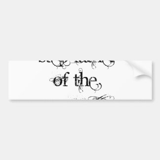 Step Father of the Groom Car Bumper Sticker