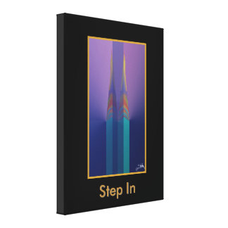 Step In Canvas Print