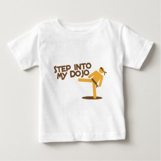 step into my dojo katate fighting design baby T-Shirt
