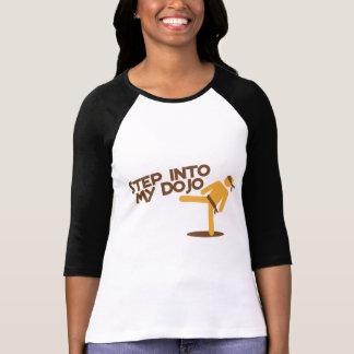 step into my dojo katate fighting design T-Shirt