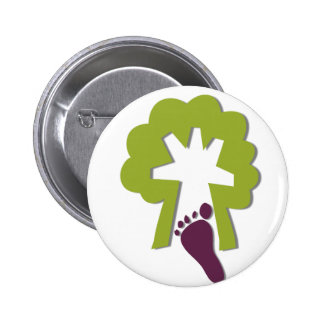 STEP INTO NATURE PINBACK BUTTON