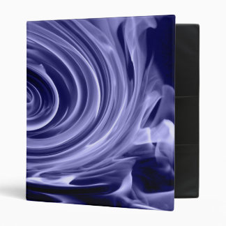 Step into the fire blue 3 ring binder