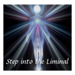 Step into the Liminal Magnet Print