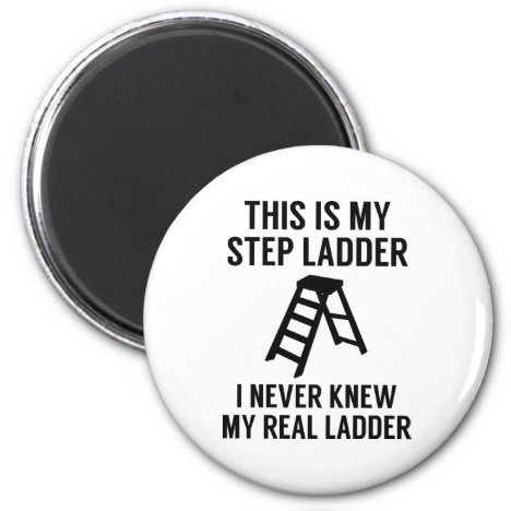 Step Ladder Magnet