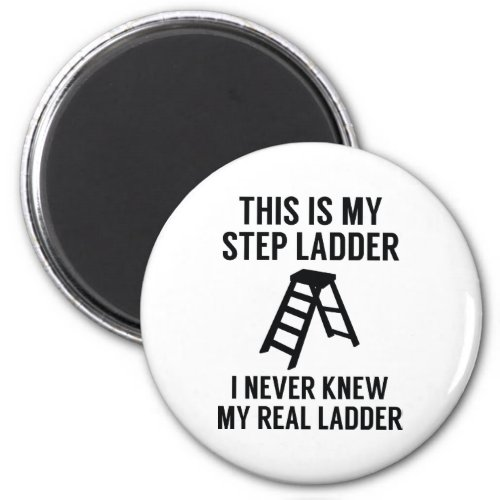 Step Ladder Magnet