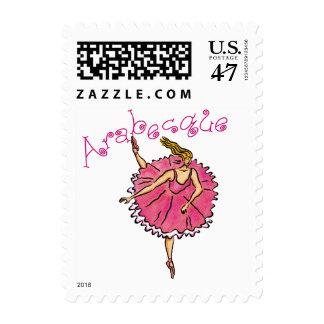 Step Lightly Ballerina Postage