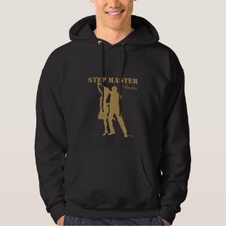 Step Master Hoodie gold silhouette