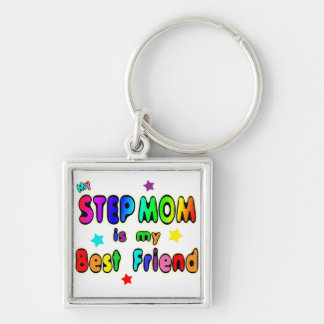 Step Mom Best Friend Keychain