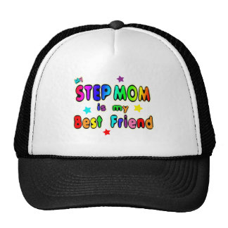Step Mom Best Friend Trucker Hat