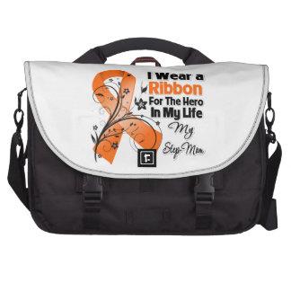 Step-Mom Hero in My Life Leukemia Laptop Bags