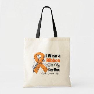 Step-Mom - Leukemia Ribbon Canvas Bag