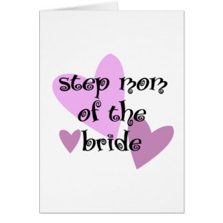 Step Mom of the Bride Card