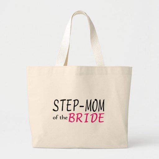 Step Mom Of The Bride Jumbo Tote Bag