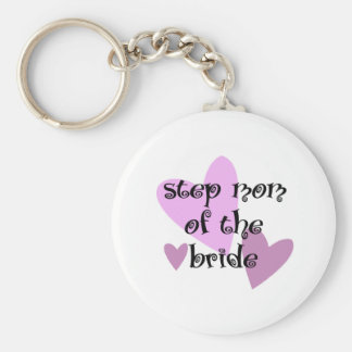 Step Mom of the Bride Keychain