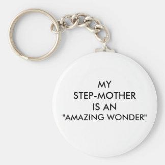 "STEP-MOTHER ""AMAZING WONDER"" KEYCHAIN"