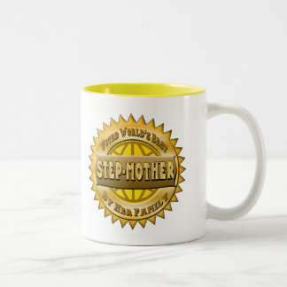 Step-Mother Mothers Day Gifts Two-Tone Coffee Mug