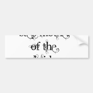 Step Mother of the Bride Bumper Sticker