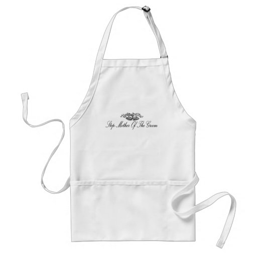 Step-Mother Of The Groom Apron