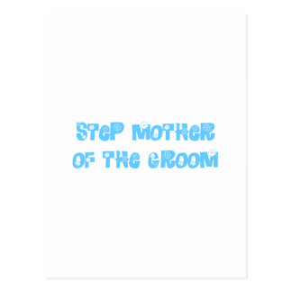 Step Mother of the Groom Postcard