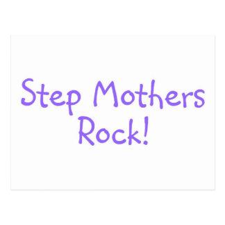 Step Mothers Rock Purple Postcard