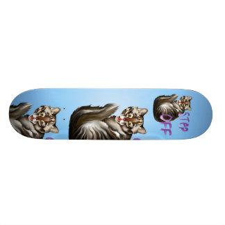 Step Off Skateboard