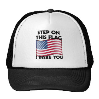 Step On This Flag I Dare You Trucker Hat