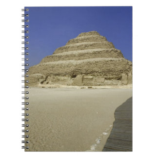 Step pyramid at Saqqara, one of the earliest Spiral Notebooks
