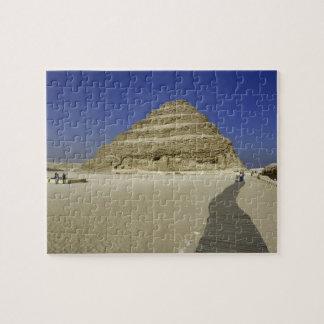 Step pyramid at Saqqara, one of the earliest Puzzle
