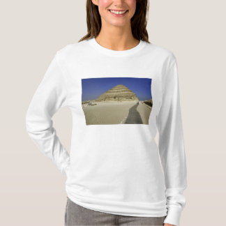 Step pyramid at Saqqara, one of the earliest T-Shirt