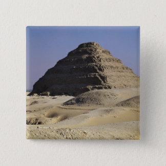 Step pyramid of King Djoser  Old Kingdom Pinback Button