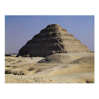 Step pyramid of King Djoser  Old Kingdom Postcard