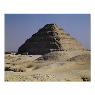 Step pyramid of King Djoser  Old Kingdom Poster