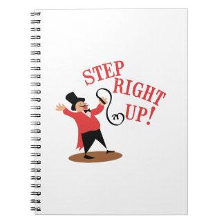 Step Ringmaster Spiral Notebook