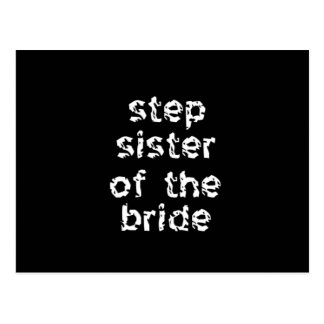 Step Sister of the Bride Postcard