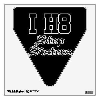 step sisters wall sticker