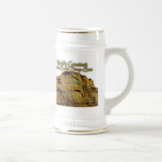 Step-Son's Rock-Solid White Beer Stein