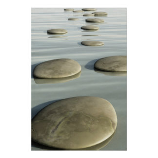 Step Stones Poster