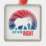 Step To The Right Christmas Ornaments