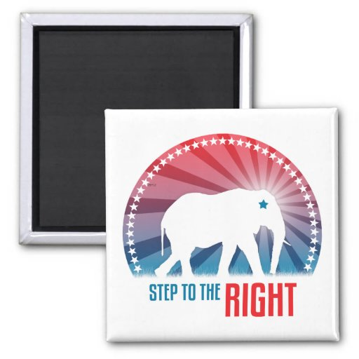 Step To the Right Magnet