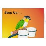 Step Up Birthday Greeting Card