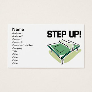 Step Up Business Card